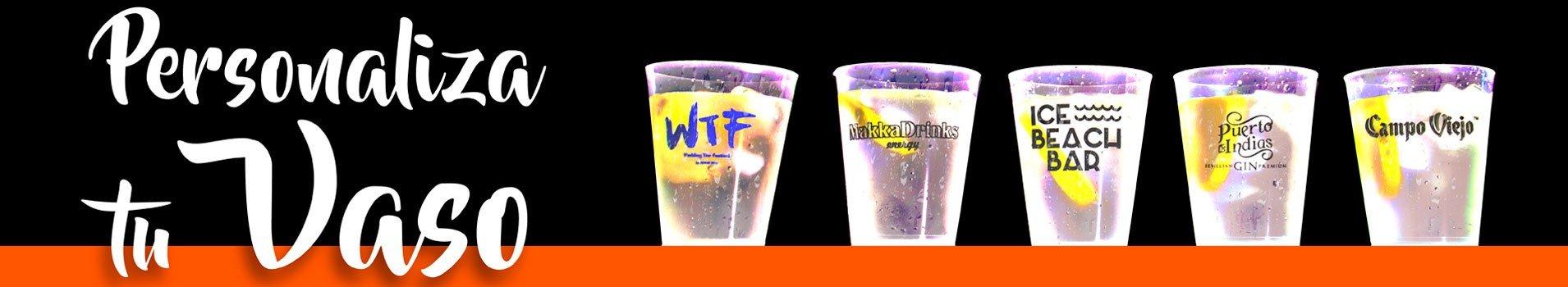 Vasos y platos de pl stico copas vasos de colores for Vasos chupito personalizados