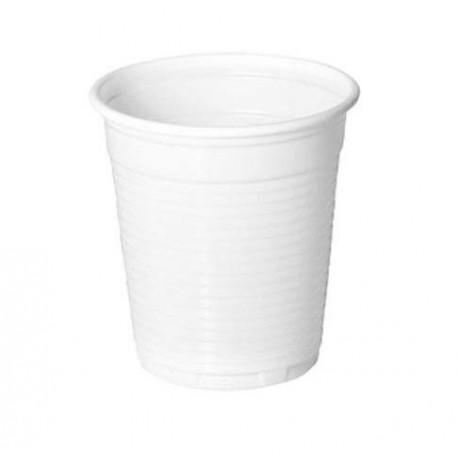 Vasos de Plástico PP 160ml Blancos