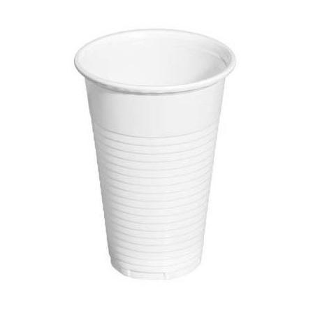 Vasos de Plástico PP 220ml Blancos