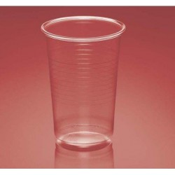 Vasos de Plástico PP 250ml Plus Transparentes