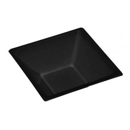 Cuencos de Plástico PS Negros 12cm
