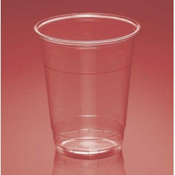 Vasos de Plástico PP 300ml Plus Transparentes