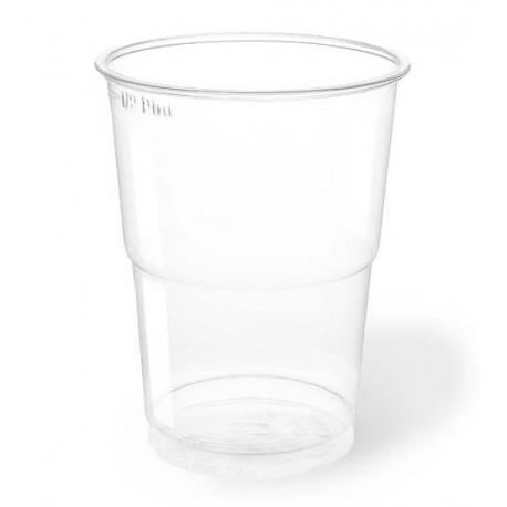 Vasos de Plástico PET 300ml Ø 7,8cm Transparentes