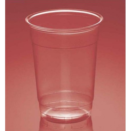 Vasos de Plástico PP 330ml Plus Transparentes