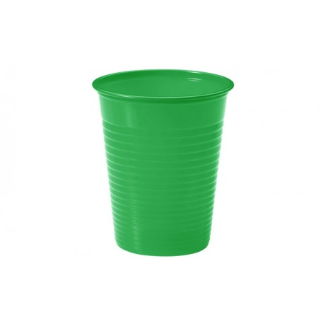 Vasos de Plástico PP 200ml Verdes