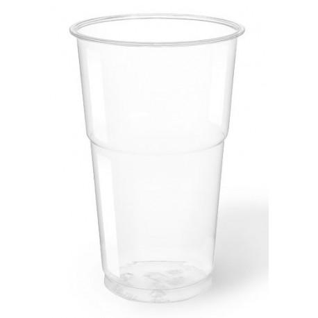 Vasos de Plástico PET 350ml Ø 7,8cm Transparentes