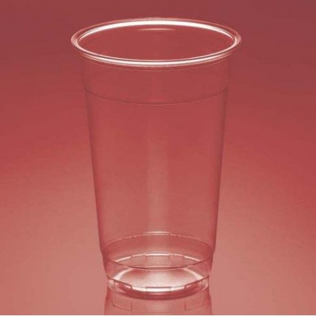 Vasos de Plástico PP 370ml Plus Transparentes