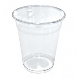 Vasos de Plástico PET 360ml Ø 9,5cm Transparentes