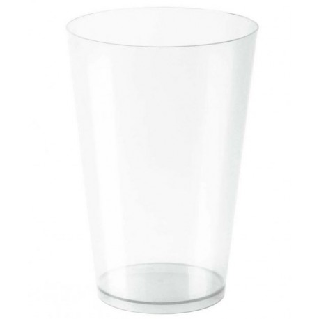 Vasos de Plástico PS Cocktail 400ml Inyectado Transparente