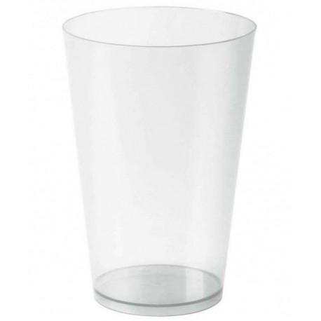 Vasos de Plástico PP Cocktail 400cc Inyectado (Caja 300 Uds)