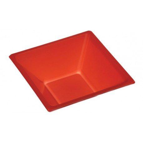 Cuencos de Plástico PS Rojos 12cm