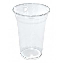 Vasos de Plástico PET 480ml Ø 9,5cm Transparentes