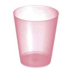 Vasos Sidra Plástico PP 480ml Inyectado Rojo Translúcido