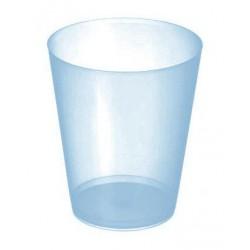 Vasos Sidra Plástico PP 480ml Inyectado Azul Translúcido