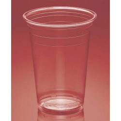 Vasos de Plástico PP 500ml Plus Transparentes