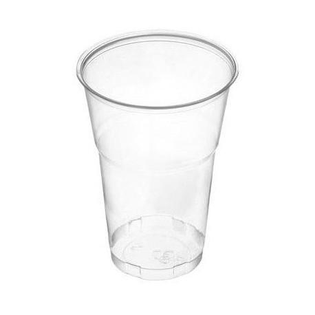 Vasos de Plástico PP 500ml Transparentes