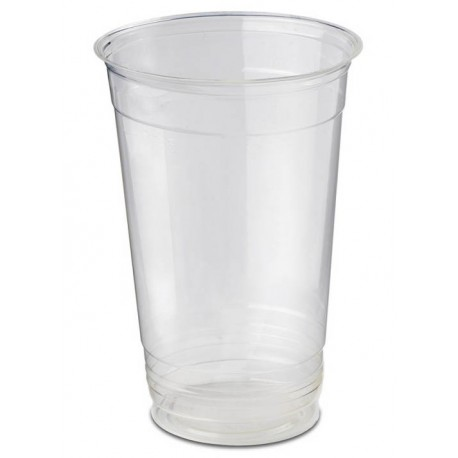 Vasos Biodegradables PLA 330ml Transparentes