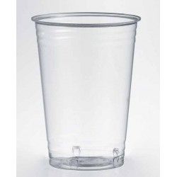 Vasos Biodegradables PLA 390ml Transparentes