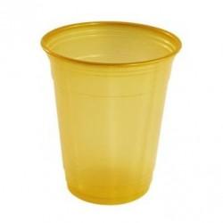 Vasos de Plástico PP Suprem 360ml Dorados