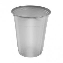 Vasos de Plástico PP Suprem 360ml Plateados