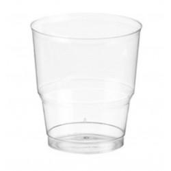 Vaso Catering Plástico PS 220 cc Transparentes