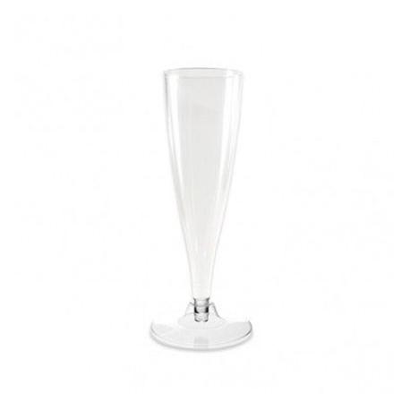 Copas de Cava Flauta de Plástico PS 130cc Transparente