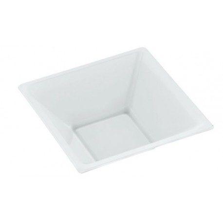 Cuencos de Plástico PS Blancos 12cm