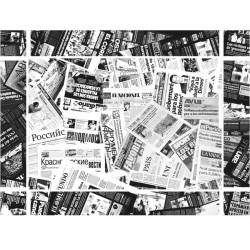 Mantel Individual Papel 30x40cm News