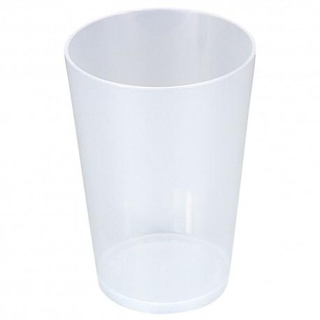 Vasos de Plástico Duro PP Reutilizables 280ml