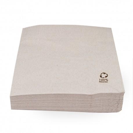 Servilletas Papel Ecológicas 30x30cm 1 Capa