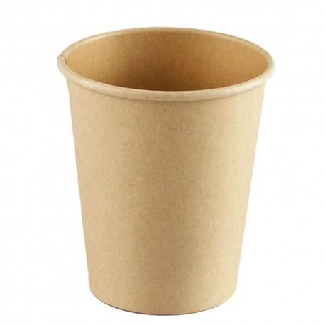 Vasos Biodegradables de Cartón y PLA 8Oz/240ml