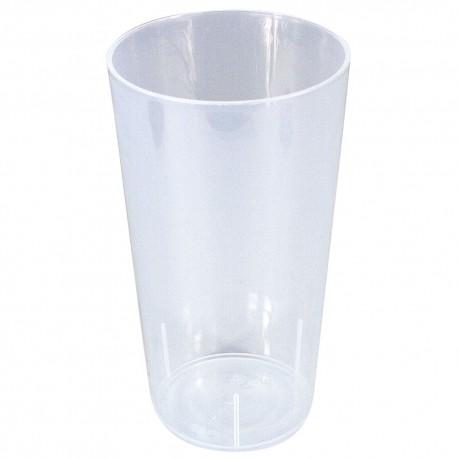Vasos de Plástico Duro PP Cocktail Reutilizables 500ml