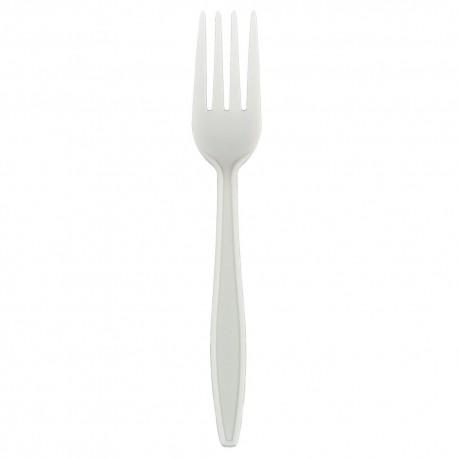 Tenedores Biodegradables Maíz 17,5cm