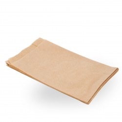 Bolsas de Papel Kraft 12+6x20cm 40gr