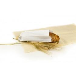 Bolsas de Papel Blancas 9+5x24cm 40gr