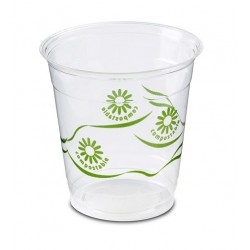 Vasos Biodegradables PLA 230ml Impresos