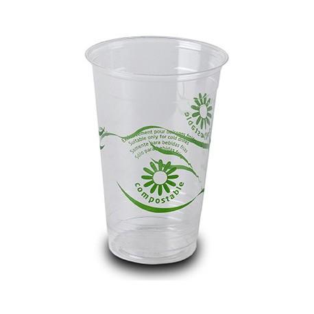 Vasos Biodegradables PLA 330ml Impresos