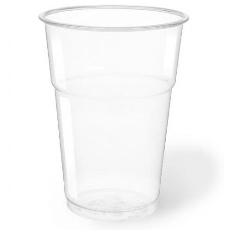 Vasos Biodegradables PLA 400ml Transparentes
