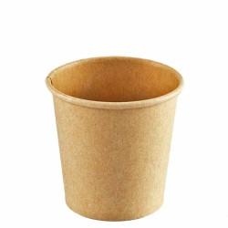 Vasos de Cartón Kraft 120ml