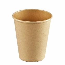 Vasos de Cartón Kraft 7Oz/200ml Ø7,4cm