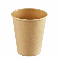 Vasos de Cartón Kraft 200ml