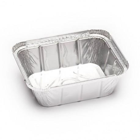 Envases de Aluminio Rectangular 475ml