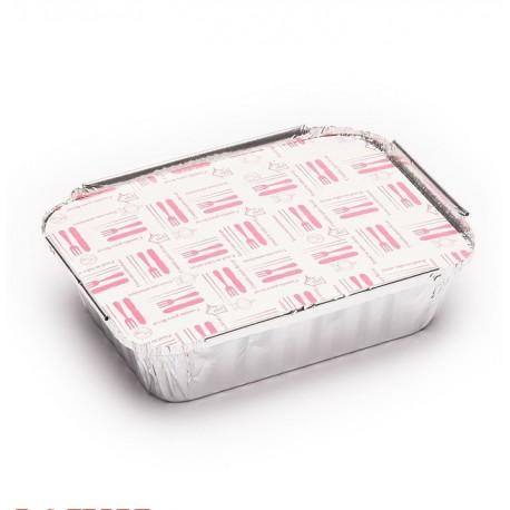 Tapas para Envases de Aluminio Rectangulares de 590ml