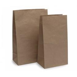 Bolsas de Papel Kraft Americanas 18+12x34cm