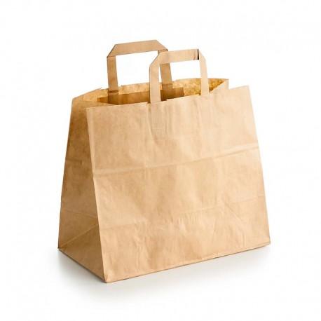 Bolsas de Papel Kraft con Asas Take Away