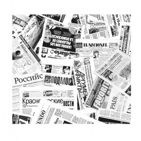 Papel Antigrasa Periódico 30x30cm