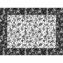 Mantel Individual Papel 30x40cm Cachemir