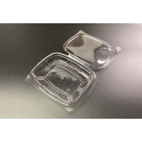 Envases con Tapa Plástico PET 150cc Transparentes