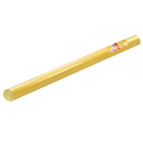 Mantel de Papel Impermeable Amarillo Rollo de 5 x 1,2m.