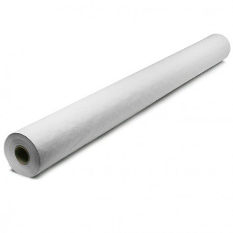 Mantel de Papel Blanco 35gr/m2  Rollo de 50 x 1m.